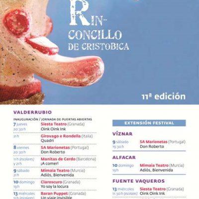Cartel Rinconcillo de Cristobica 2015